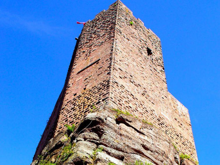 Château de Wangenbourg : son histoire, sa construction et sa localisation